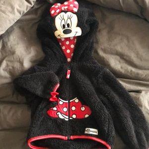 18 mo Minnie Mouse fleece.